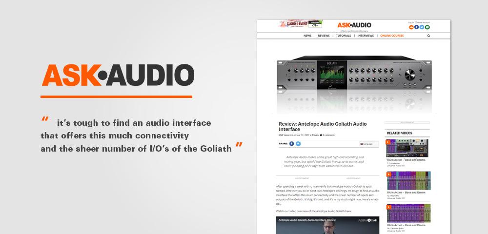 ask audio goliath reviews