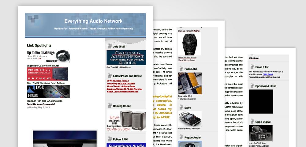 everything audio network orion32