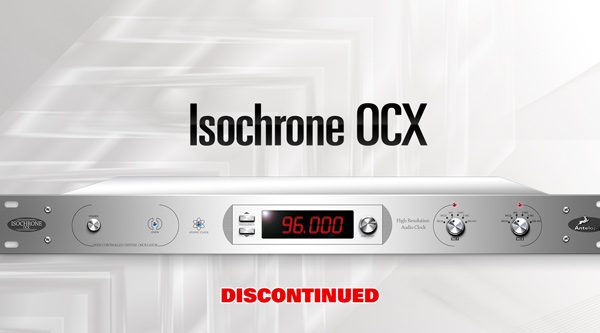 ISOCHRONE OCX - PAL, NTSC & HDTV compatible HD Master Clock