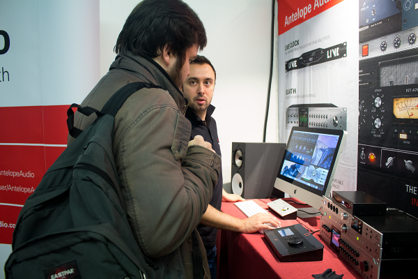 Antelope Audio at AES Paris 2016 Conference