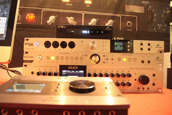 Antelope Audio Interfaces and Live Clock at AES Paris 2016