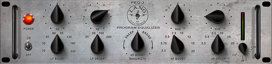 Lang PEQ-2 hardware-based EQ effect