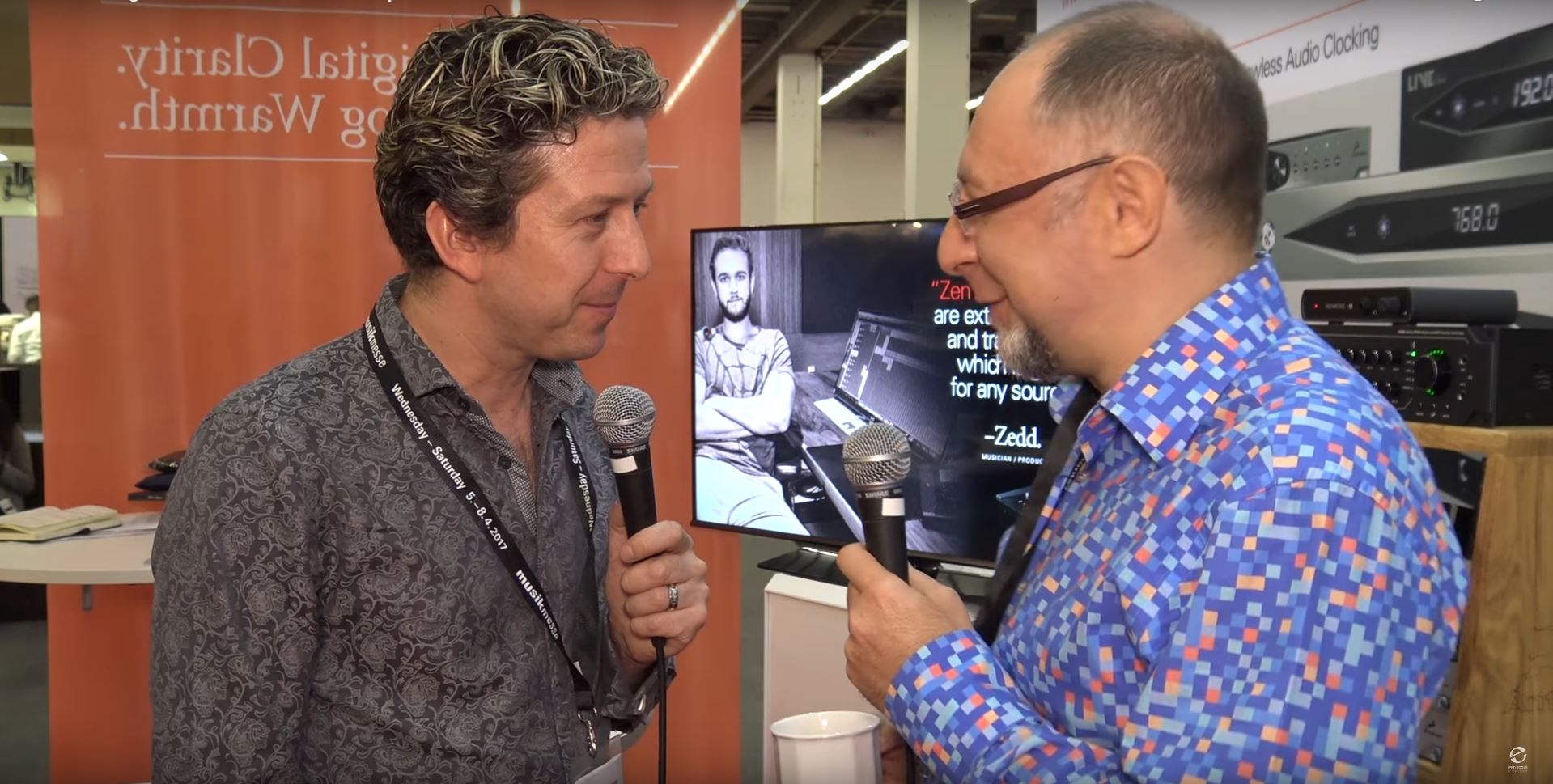 James Ivey from Pro Tools Expert talks with Antelope Audio's owner and Chief Designer, Igor Levin