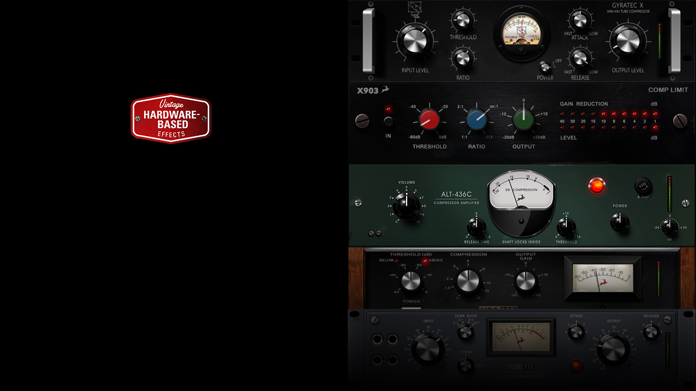Six new vintage compressor FX