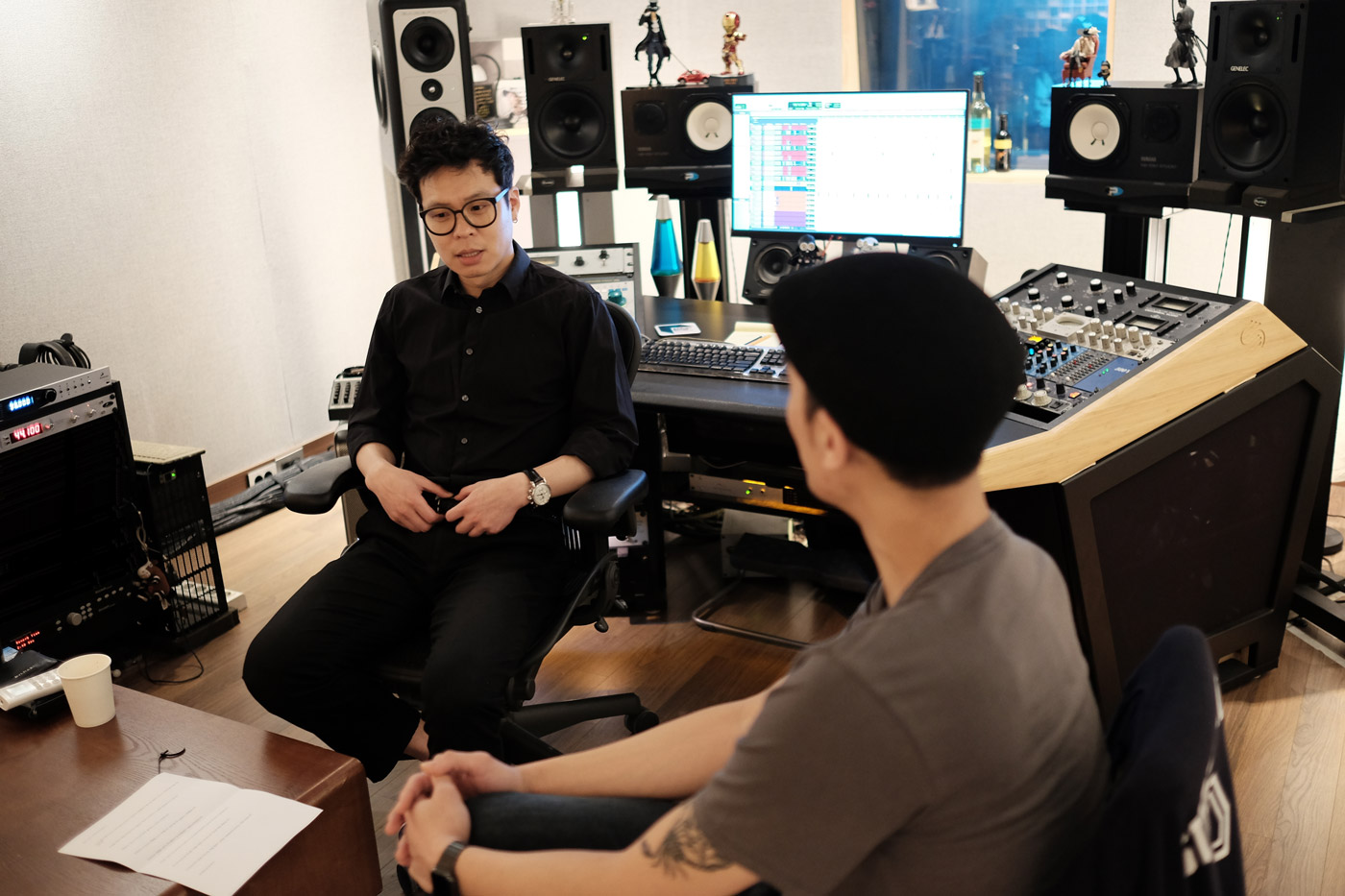 Interview with Jong-pil Gu, about recording and mixing with Antelope Audio